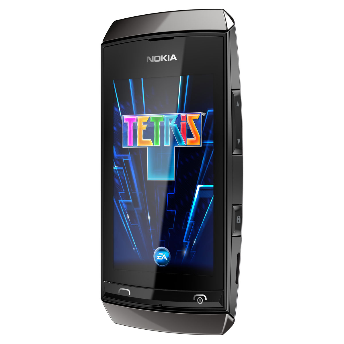 "Mobile & smartphone Nokia Asha 306 Gris Smartphone 2G avec écran 3"" et Wi-Fi"