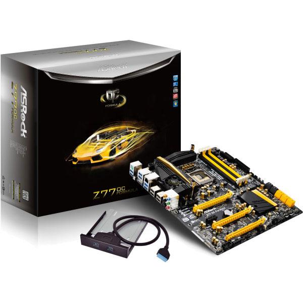 Carte mère ASRock Z77 OC Formula Carte mère CEB Socket 1155 Intel Z77 Express - SATA 6Gb/s - USB 3.0 - 2x PCI-Express 3.0 16x + 1x PCI-Express 2.0 16x
