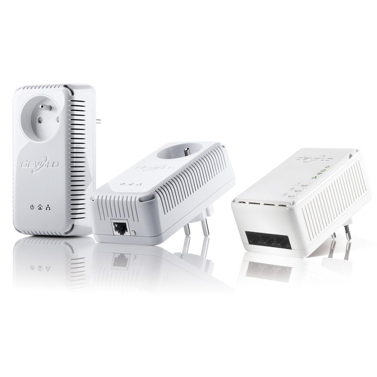 devolo 200avplus starter kit cpl 200av wifi n cpl devolo ag sur. Black Bedroom Furniture Sets. Home Design Ideas