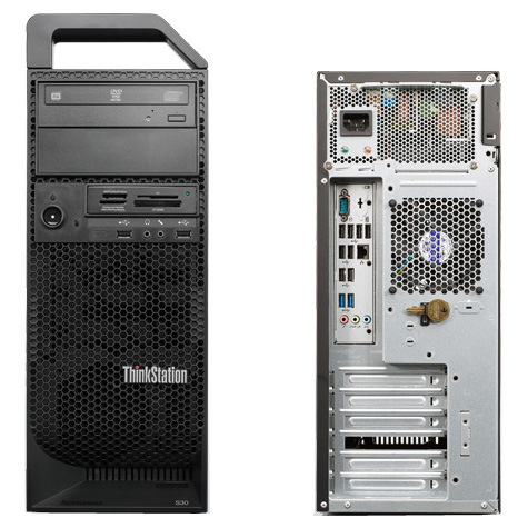 Lenovo thinkstation s30 sv7e8fr pc de bureau lenovo for Bureau 13 pc