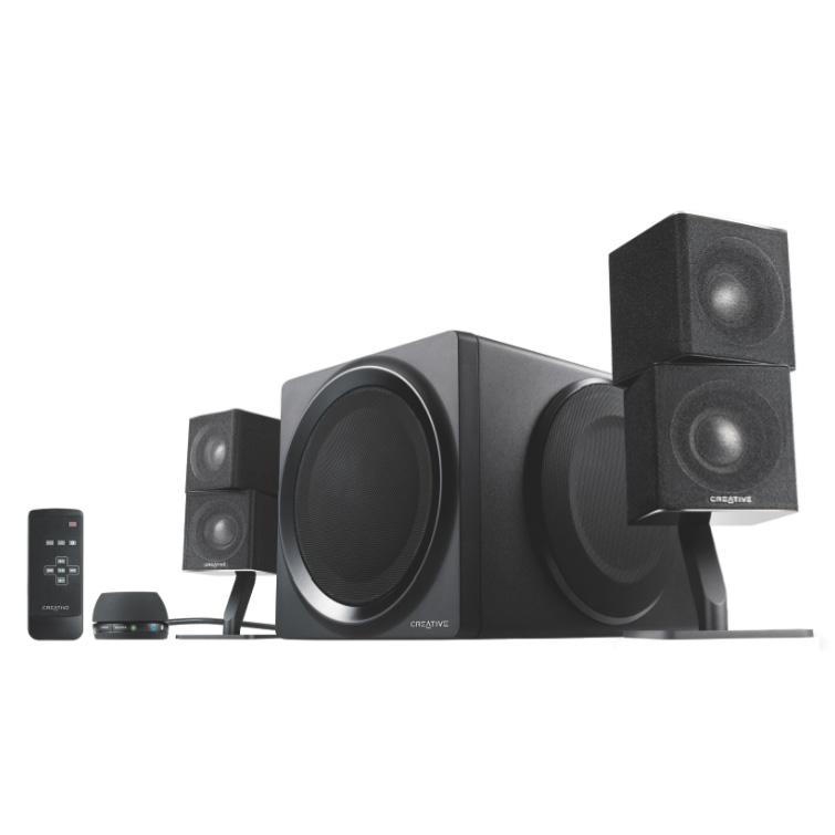 creative t6 series ii enceinte pc creative technology ltd sur. Black Bedroom Furniture Sets. Home Design Ideas