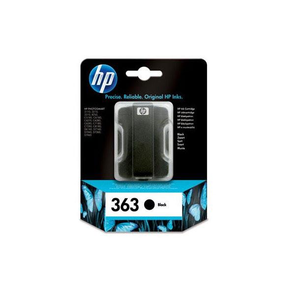 Cartouche imprimante HP 363 - C8721EE Cartouche d'encre noire