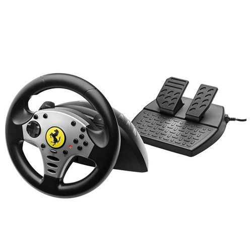 Volant PC Thrustmaster Ferrari Challenge Racing Wheel (PC/PS3) Volant + Pédalier compatible PC et PlayStation 3
