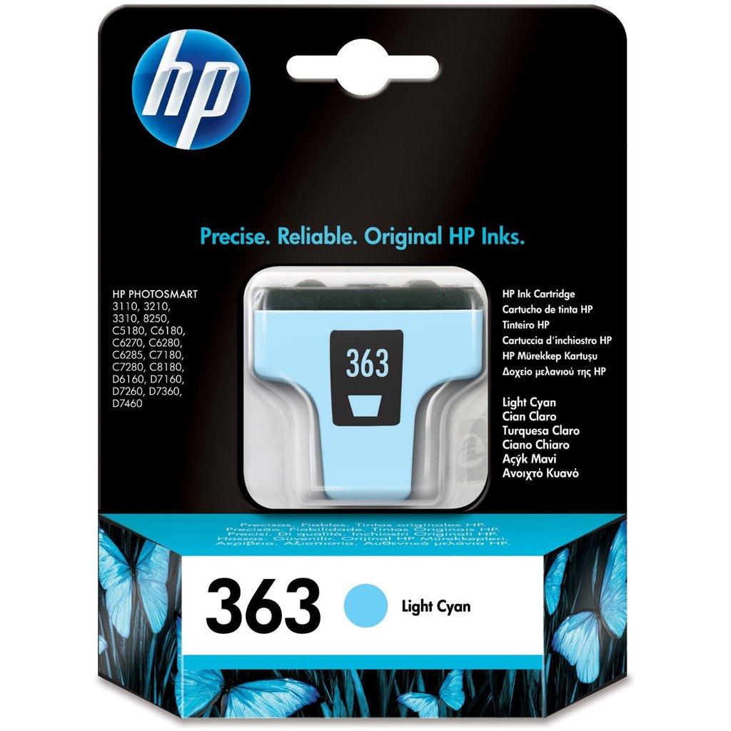 Cartouche imprimante HP 363 - C8774EE Cartouche d'encre cyan clair