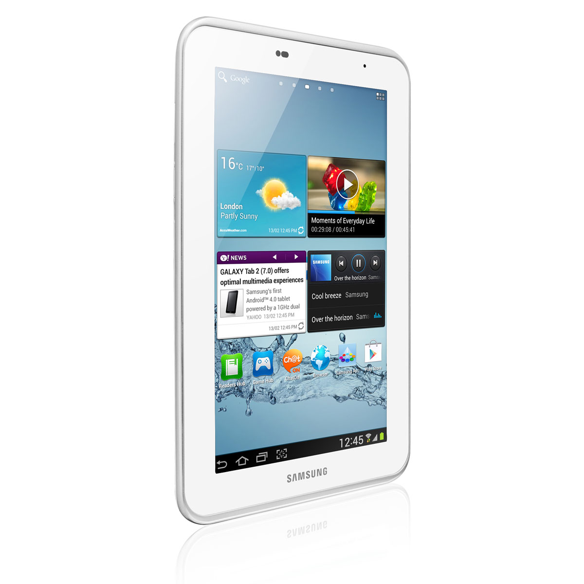 samsung galaxy tab 7 0 2 gt p3110 8 go blanc tablette tactile samsung sur. Black Bedroom Furniture Sets. Home Design Ideas