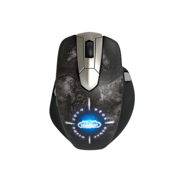 steelseries world of warcraft wireless mmo gaming mouse. Black Bedroom Furniture Sets. Home Design Ideas