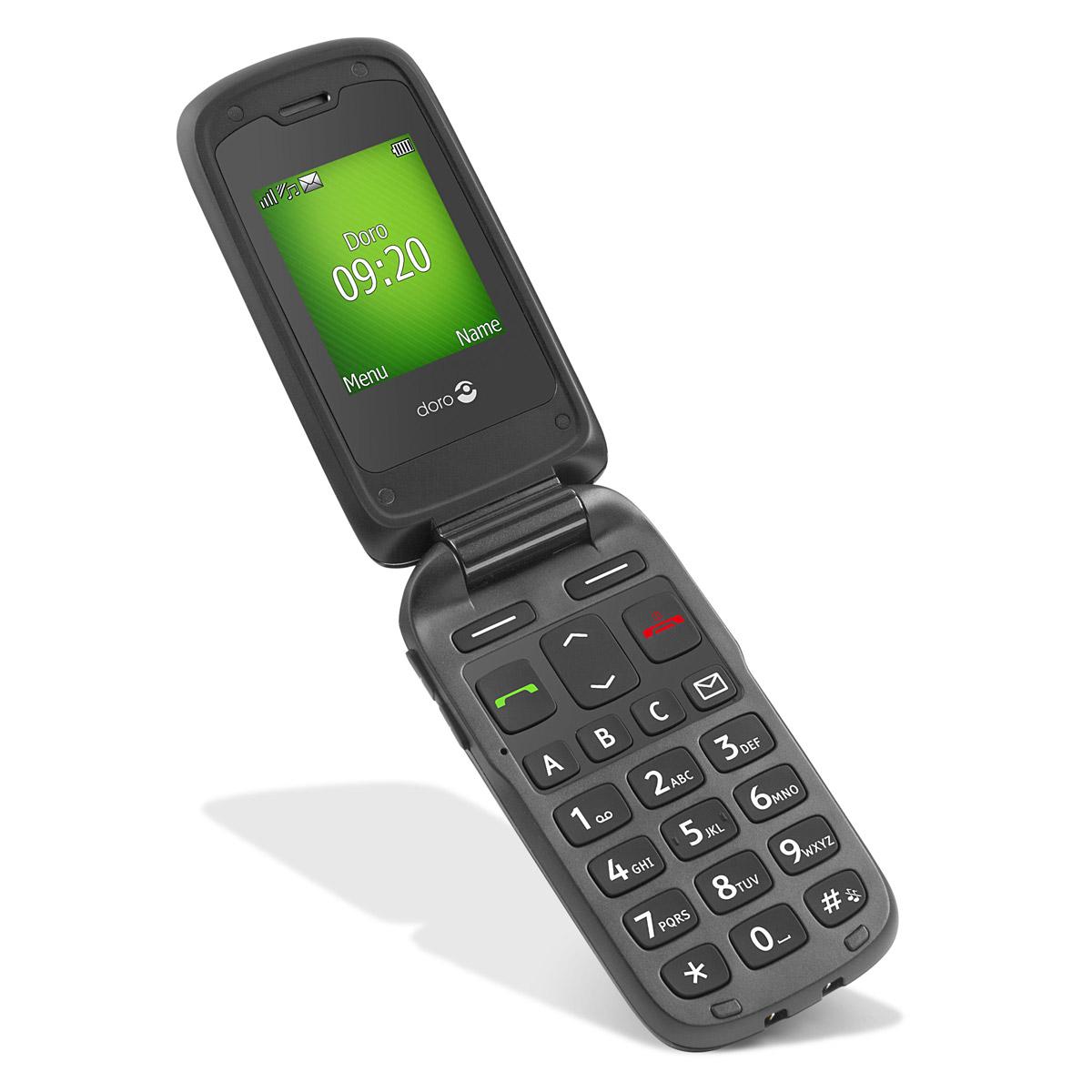Doro phoneeasy 605 noir mobile smartphone doro sur - Abonnement tele poche pas cher ...