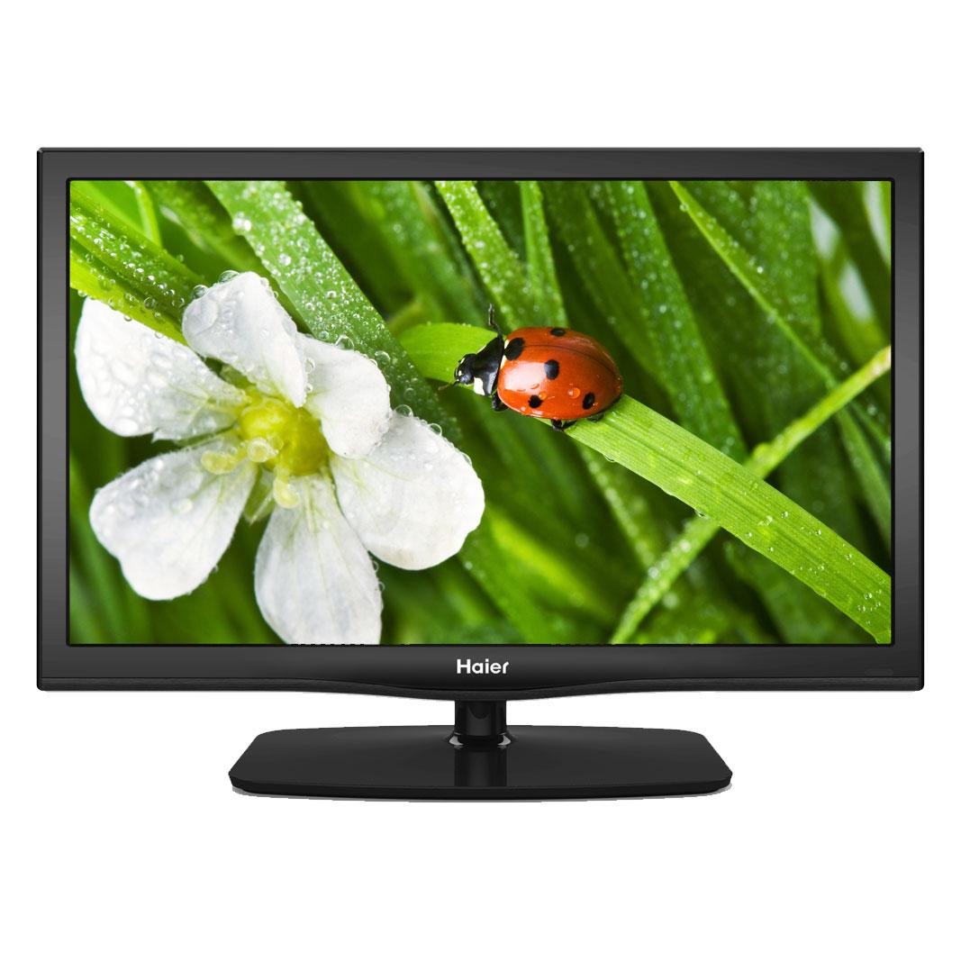 """TV Haier LET22T1000HF Téléviseur LED Full HD 22"""" (56 cm) 16/9 - 1920 x 1080 pixels - TNT HD et Câble - HDTV 1080p - Mode hôtel"""