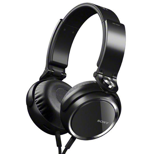 Casque Sony MDR-XB600B Noir Casque supra-auriculaire fermé