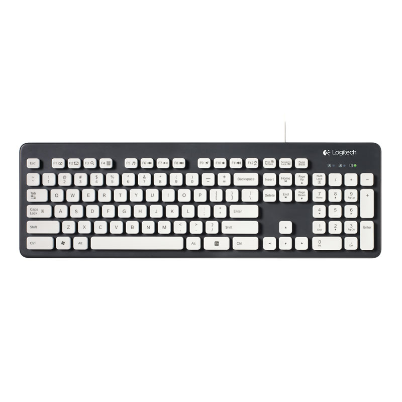 Clavier PC Logitech Washable Keyboard K310 Clavier filaire lavable (AZERTY, Français)