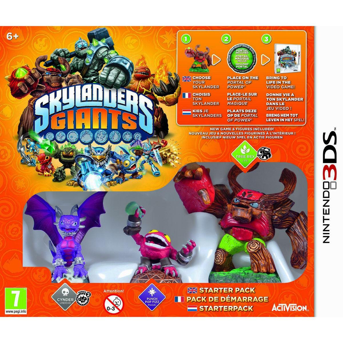Skylanders giants starter pack nintendo 3ds jeux - Jeux gratuits de skylanders ...