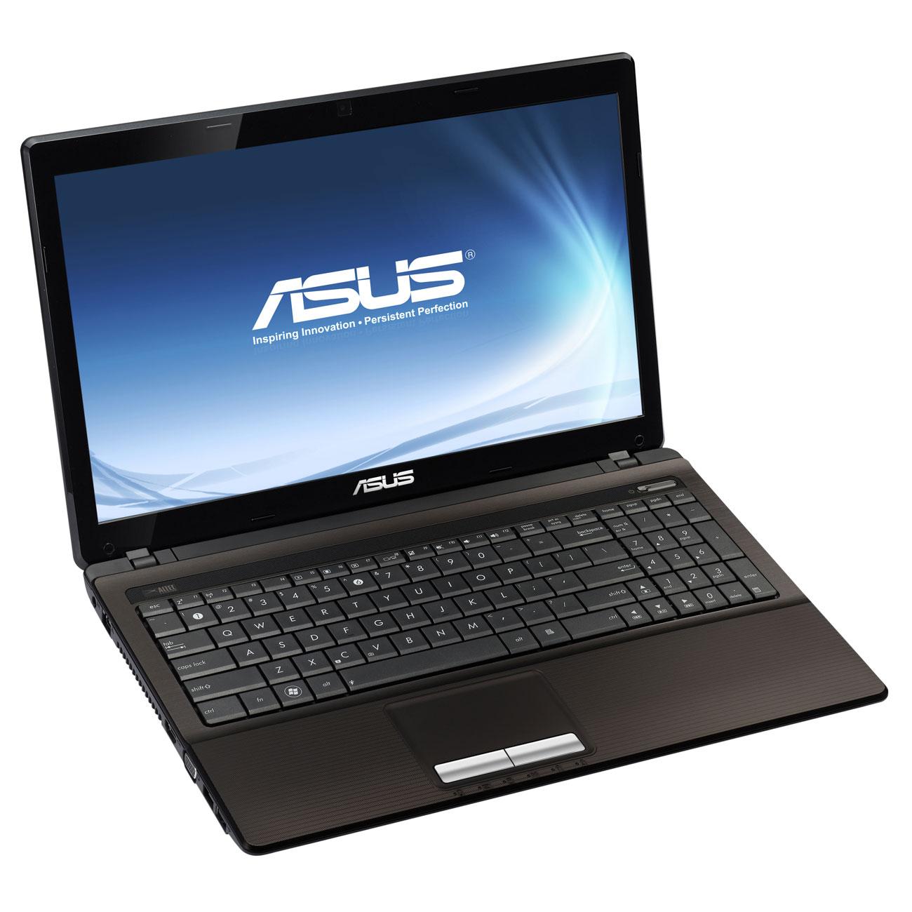 """PC portable ASUS X53U-SX366V AMD E-450 4 Go 320 Go 15.6"""" LED Graveur DVD Wi-Fi N Webcam Windows 7 Premium 64 bits (garantie constructeur 2 ans)"""