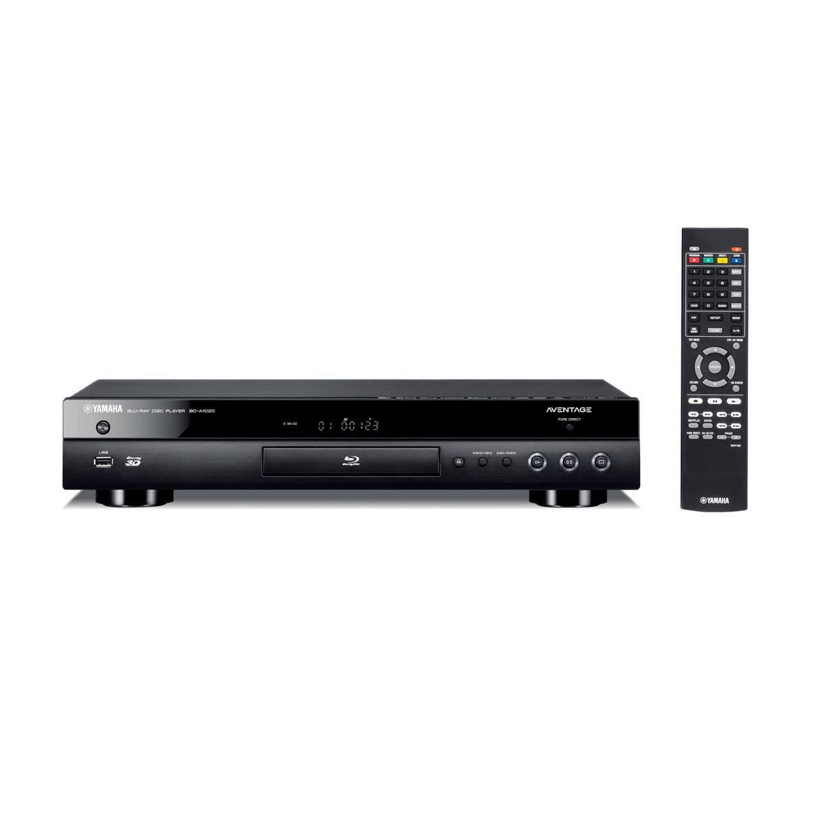 yamaha bd a1020 noir lecteur blu ray yamaha sur. Black Bedroom Furniture Sets. Home Design Ideas