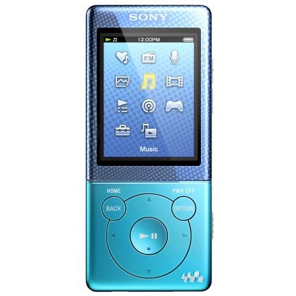 sony nwz e474 bleu lecteur mp3 ipod sony sur. Black Bedroom Furniture Sets. Home Design Ideas