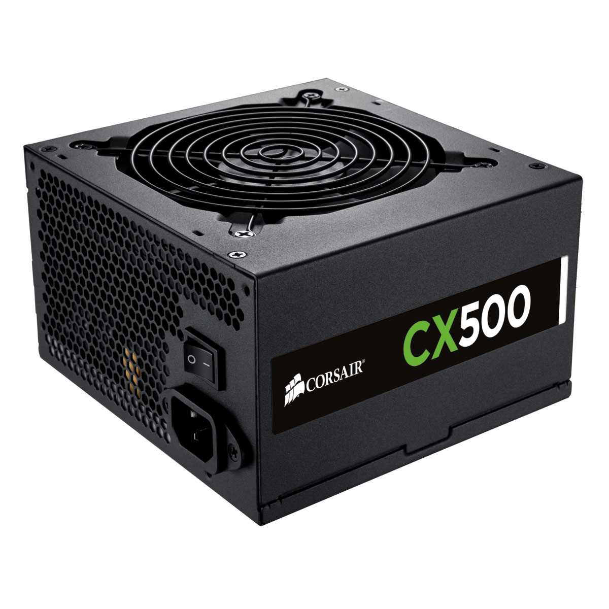 Alimentation PC Corsair CX500 80PLUS Bronze Alimentation 500W ATX 12V 2.3 - 80PLUS Bronze (Garantie 3 ans par Corsair)