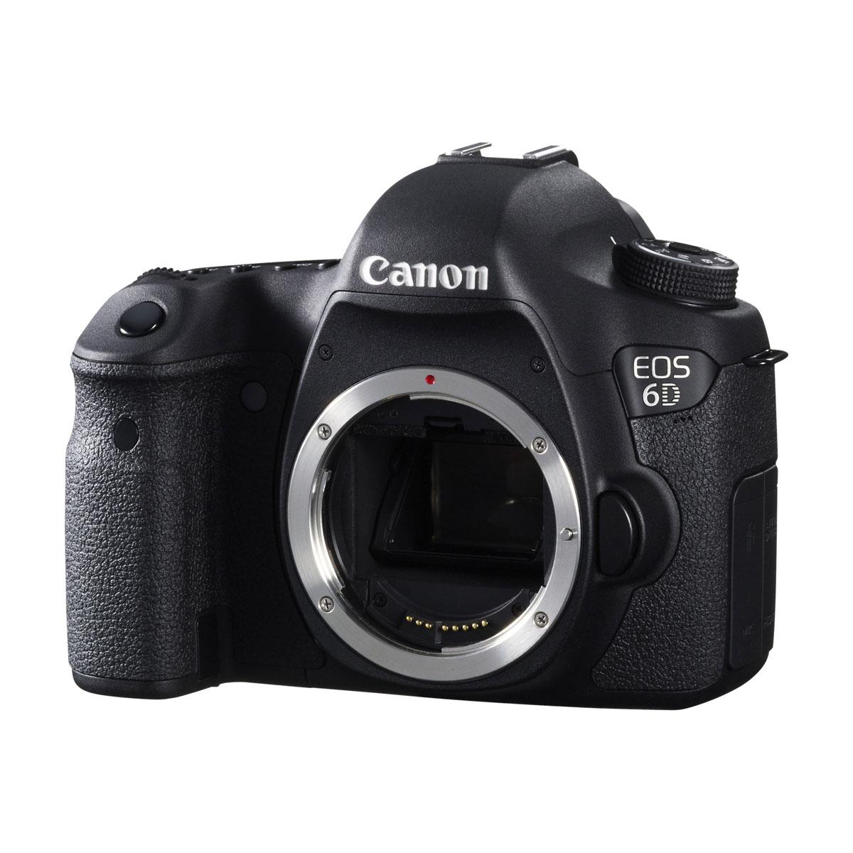 """Appareil photo Reflex Canon EOS 6D Reflex Numérique 20.2 MP - Ecran 3"""" - Vidéo Full HD (boîtier nu)"""
