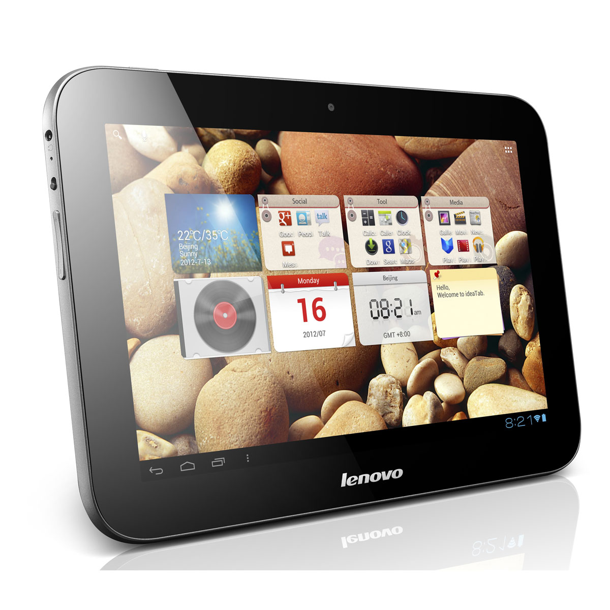lenovo ideatab a2109 16 go tablette tactile lenovo sur. Black Bedroom Furniture Sets. Home Design Ideas