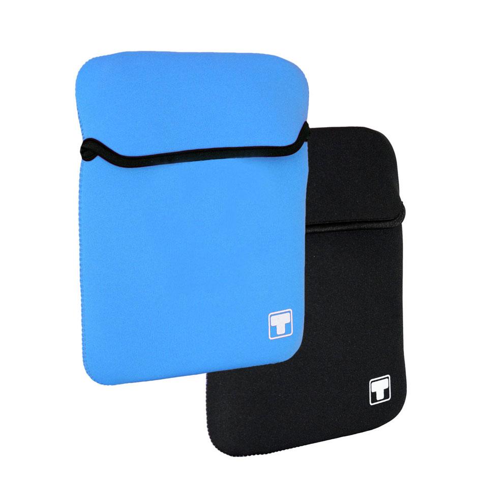 Sac, sacoche, housse White Crew HawAii 10.1'' (coloris bleu ou noir) Housse réversible pour netbook ou tablette (jusqu'à 10.1'')