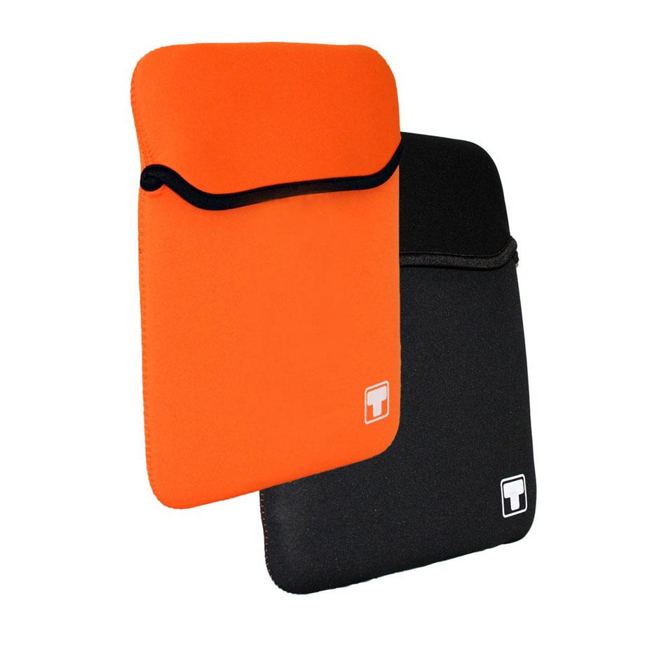 Sac, sacoche, housse White Crew HawAii 10.1'' (coloris orange ou noir) Housse réversible pour netbook ou tablette (jusqu'à 10.1'')