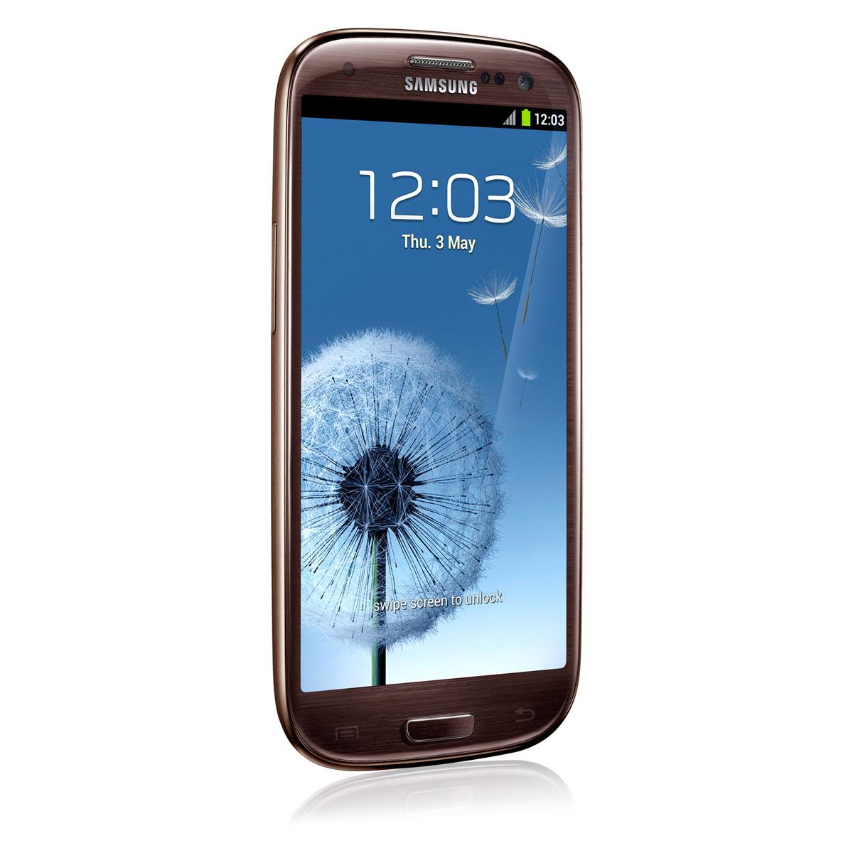 samsung galaxy siii 4g gt i9305 amber brown 16 go mobile. Black Bedroom Furniture Sets. Home Design Ideas
