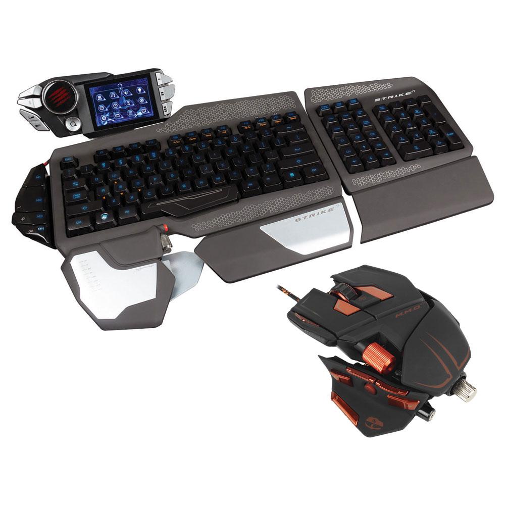 cyborg s t r i k e 7 cyborg m m o 7 pack clavier. Black Bedroom Furniture Sets. Home Design Ideas