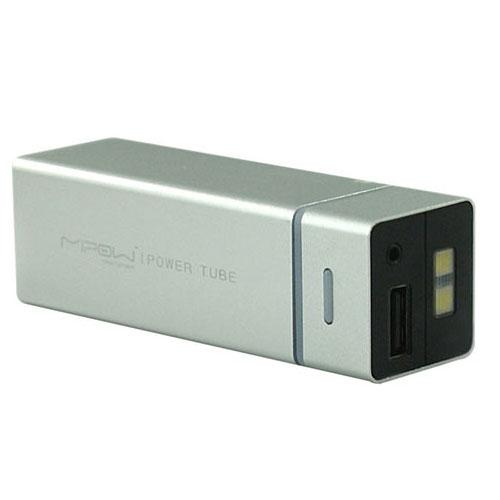 Mipow Power Tube 5500 pour iPhone/iPad Argent - Batterie téléphone Mipow sur LDLC.com