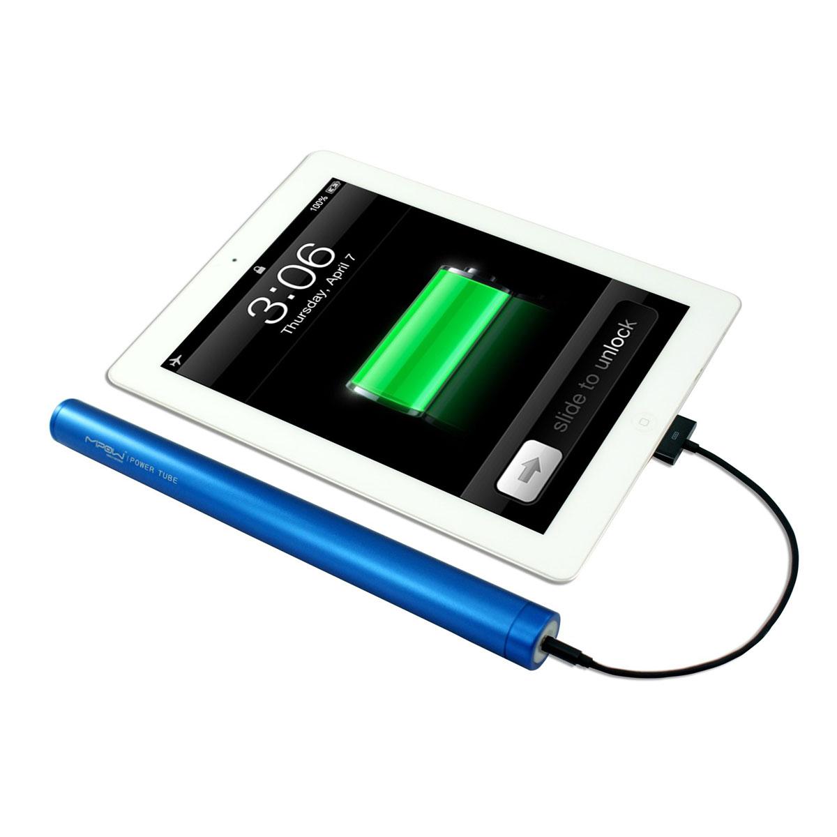Mipow Power Tube 6600 Bleu - Batterie téléphone Mipow sur LDLC.com