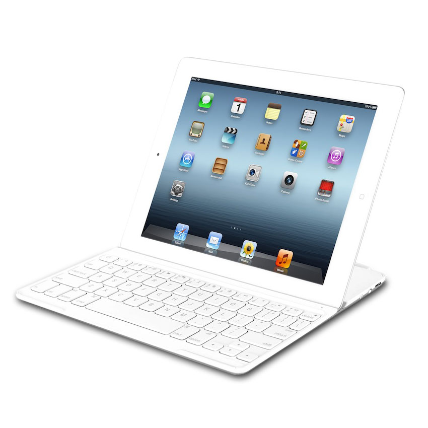 logitech ultrathin keyboard cover blanc etui tablette logitech sur. Black Bedroom Furniture Sets. Home Design Ideas