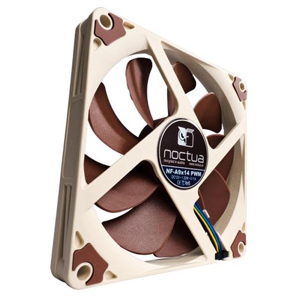 Ventilateur boîtier Noctua NF-A9x14 Ventilateur de boîtier silencieux 92x14mm
