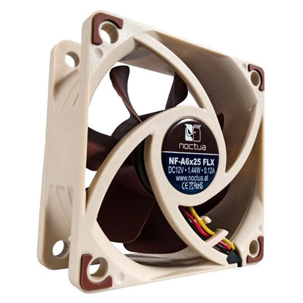 Ventilateur boîtier Noctua NF-A6x25 Ventilateur de boîtier silencieux 60x25mm