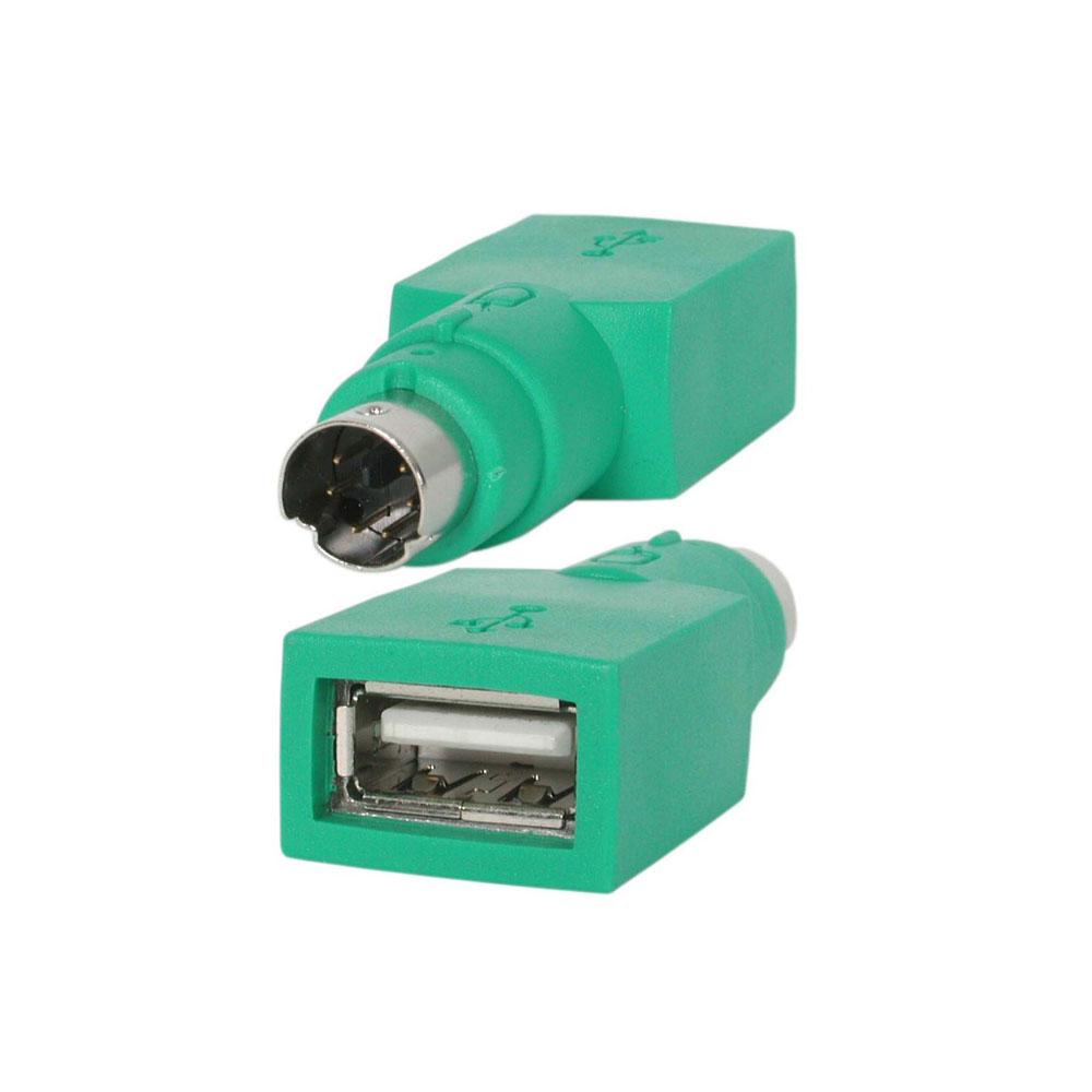 PS/2 Adaptateur de remplacement PS/2 pour souris USB Adaptateur de remplacement PS/2 pour souris USB
