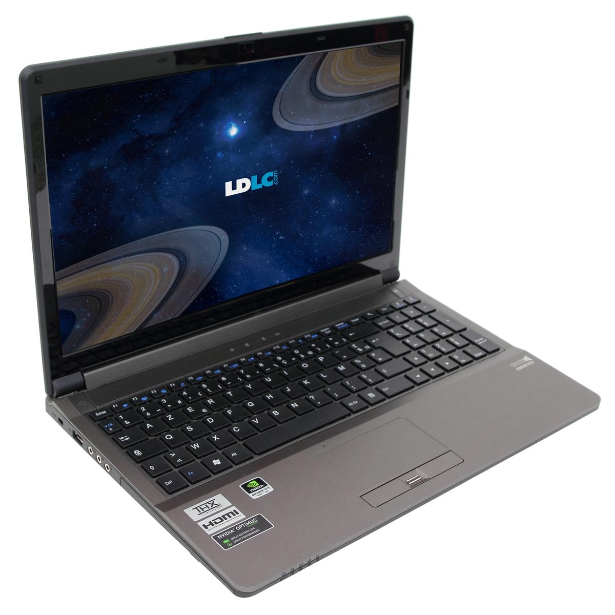 "PC portable LDLC Saturne SB6-I7-16-S1H10 Intel Core i7-3630QM 16 Go SSD 120 Go + HDD 1 To 15.6"" LED NVIDIA GeForce GTX 660M Lecteur Blu-ray/Graveur DVD Wi-Fi N/Bluetooth Webcam (sans OS)"