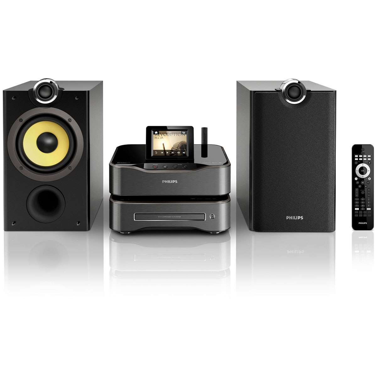 philips mci8080 cha ne hifi philips sur. Black Bedroom Furniture Sets. Home Design Ideas