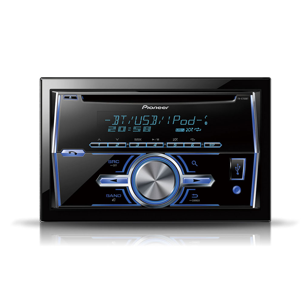 pioneer fhx 700bt autoradio pioneer sur. Black Bedroom Furniture Sets. Home Design Ideas