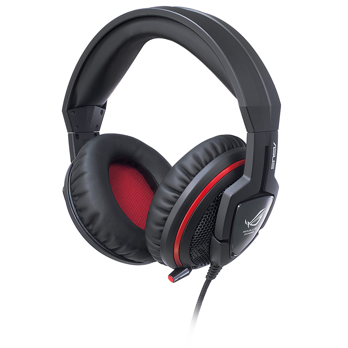 asus rog republic of gamers orion micro casque asus sur. Black Bedroom Furniture Sets. Home Design Ideas