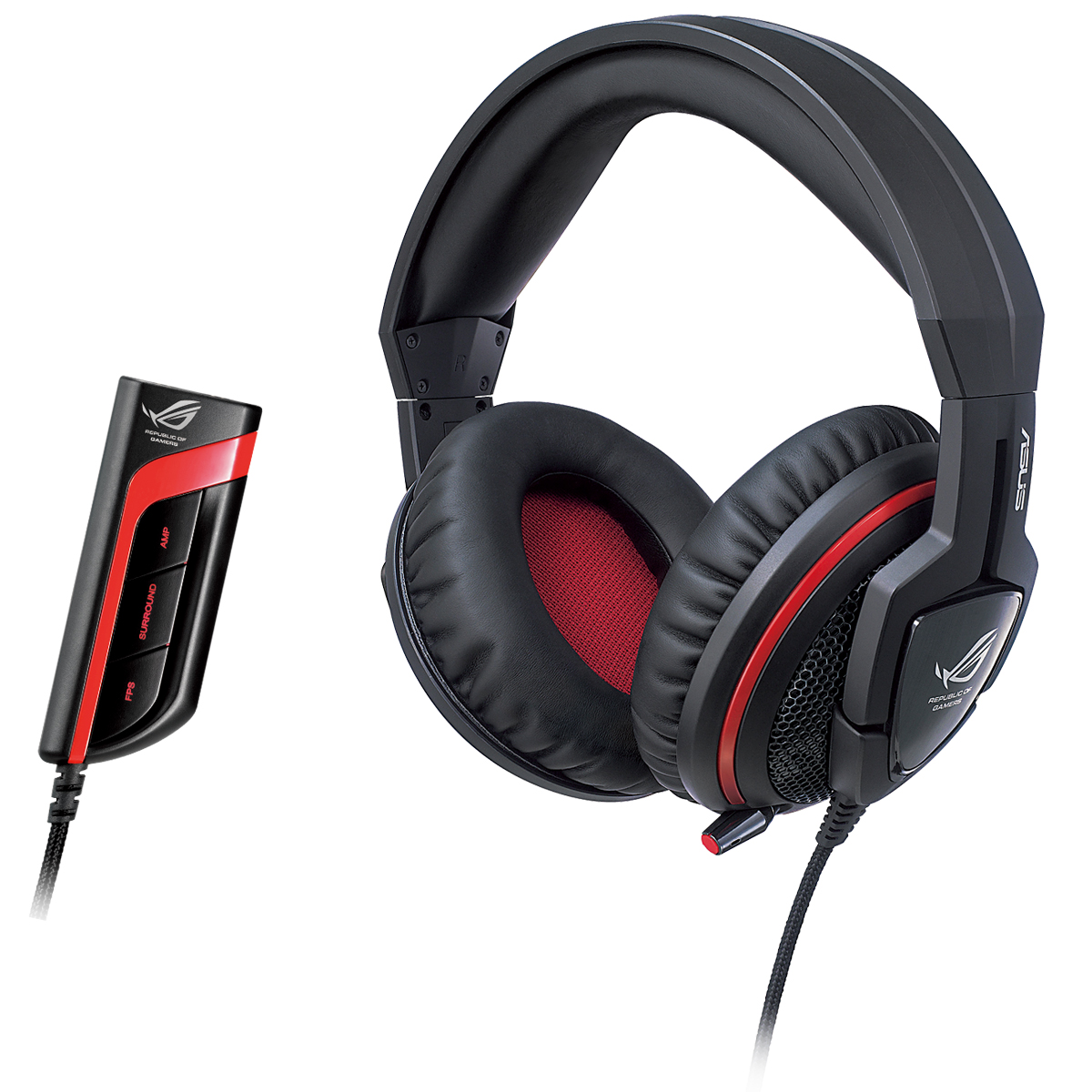 Micro-casque ASUS ROG Republic of Gamers Orion PRO Casque-micro à réduction active de bruit pour gamer
