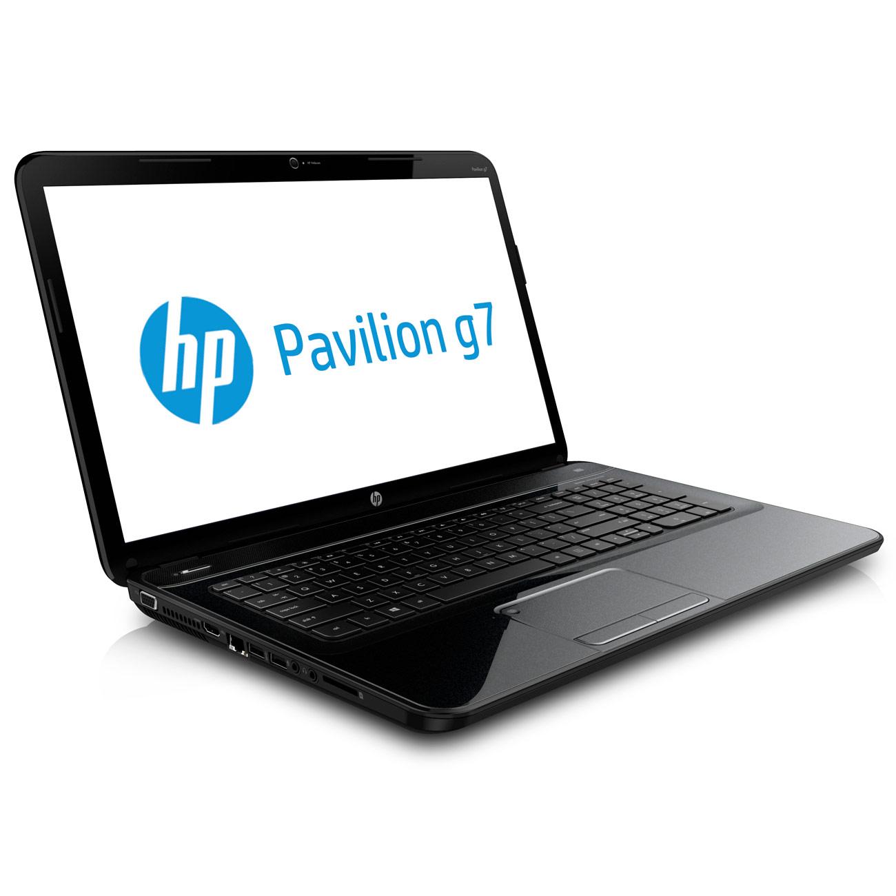 """PC portable HP Pavilion g7-2242sf (C1S68EA) Intel Pentium B980 4 Go 750 Go 17.3"""" LED Graveur DVD Wi-Fi N Webcam Windows 8 64 bits"""