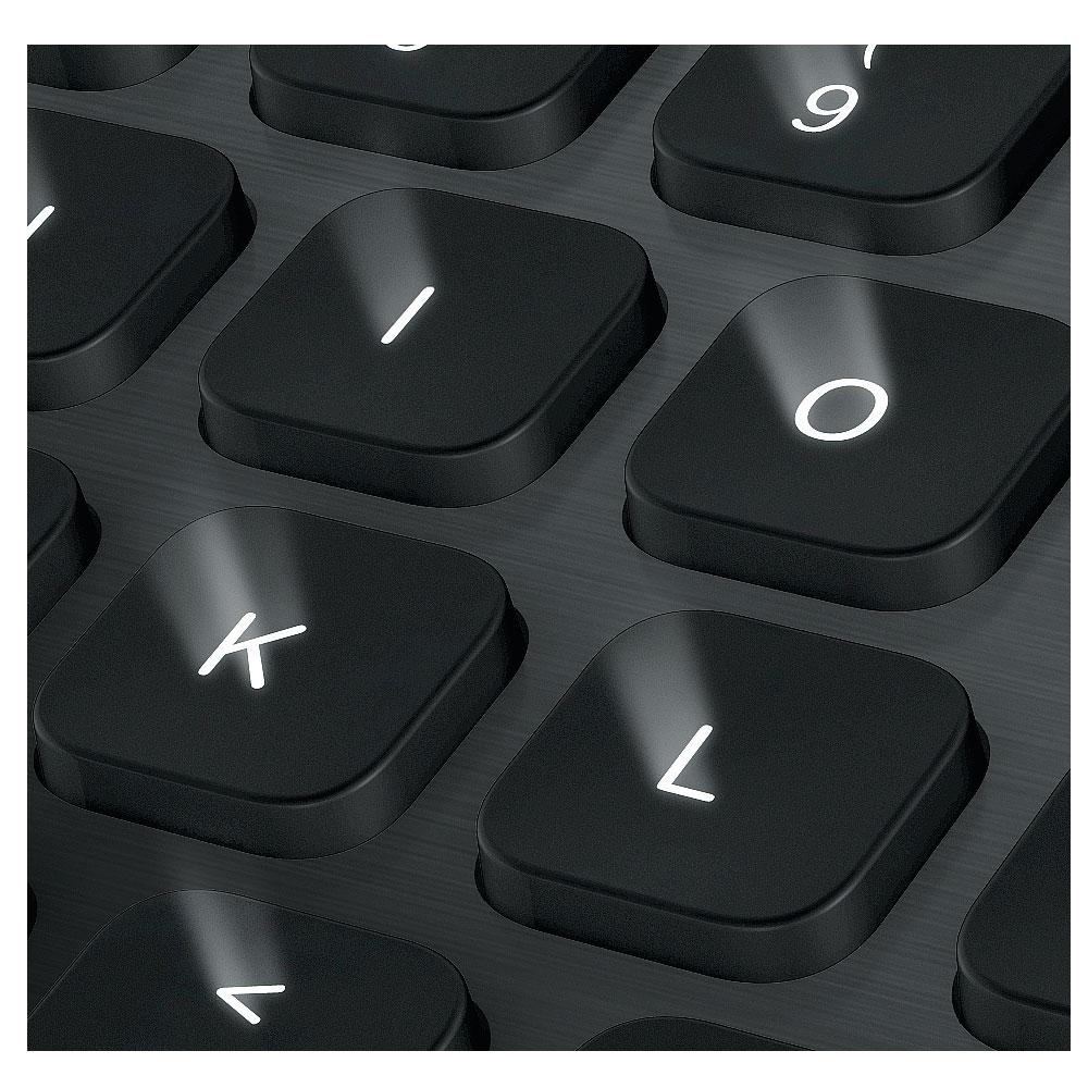 logitech bluetooth illuminated keyboard k810 clavier pc. Black Bedroom Furniture Sets. Home Design Ideas