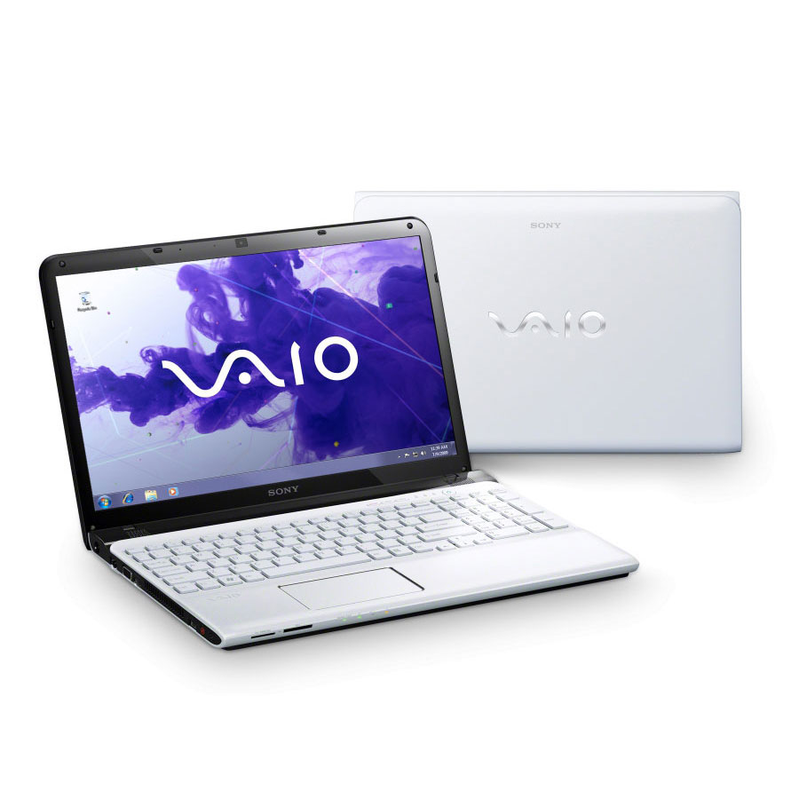 "PC portable Sony VAIO E1512C6EW Intel Pentium B980 4 Go 500 Go 15.5"" LED Graveur DVD Wi-Fi N/BT Webcam Windows 8 64 bits"
