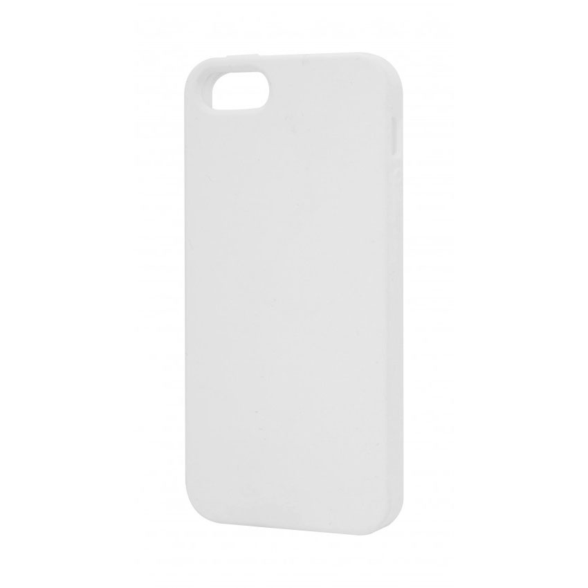 coque iphone 5 silicone blanc