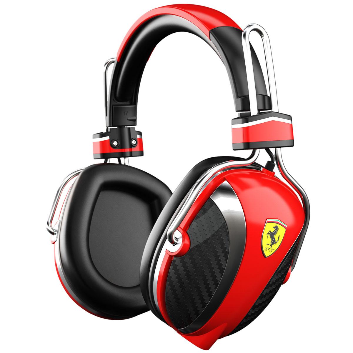 Ferrari p200 rouge casque ferrari sur for Le meuble headsets