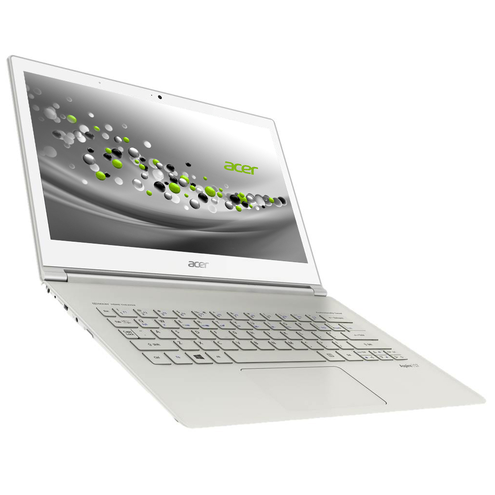 "PC portable Acer Aspire S7-391-73534G25aws Intel Core i7-3537U 4 Go SSD 256 Go 13.3"" LED Tactile Wi-Fi N/Bluetooth Webcam Windows 8 64 bits"