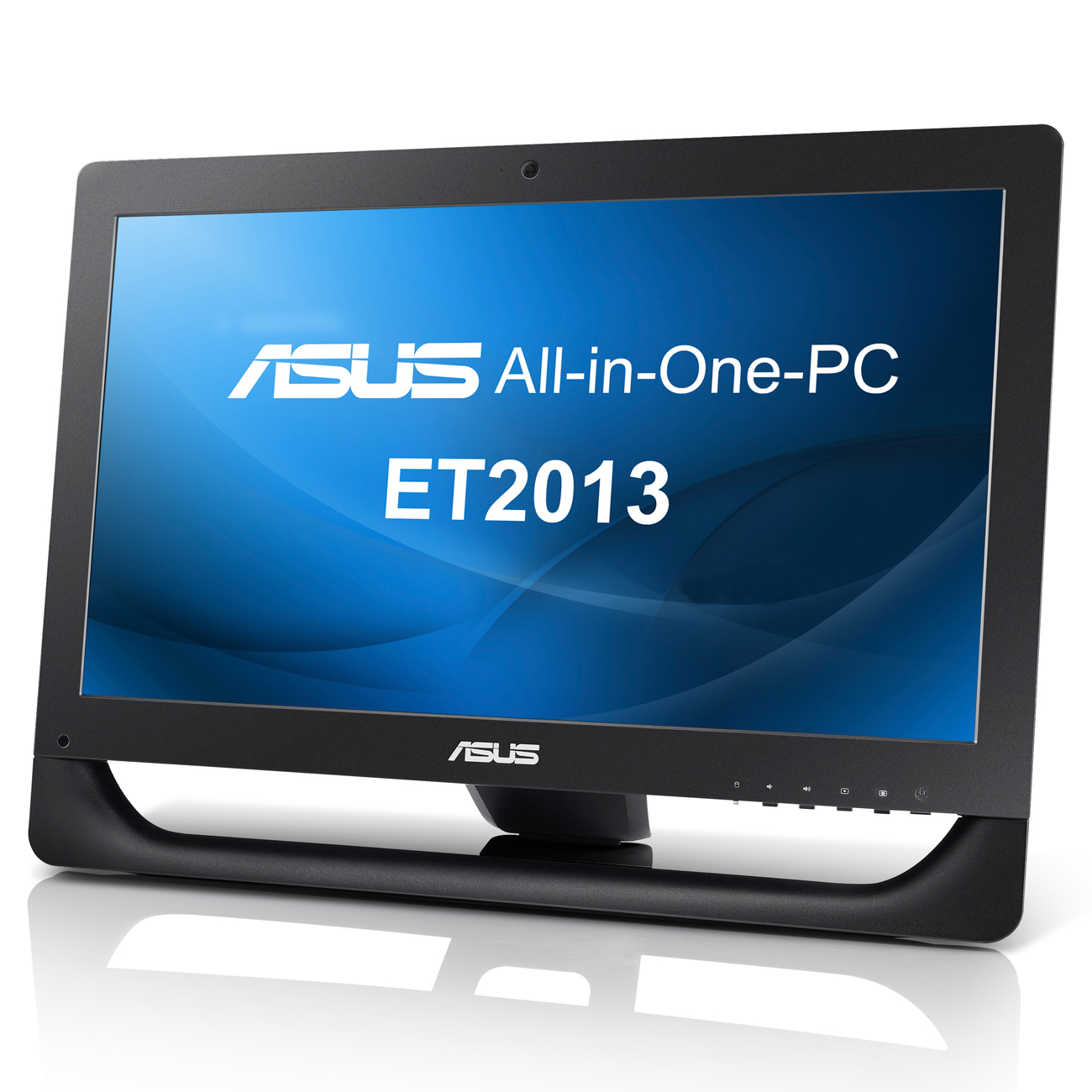 "ASUS All-in-One PC ET2013IUTI-B003E Noir Intel Pentium G645 4 Go 500 Go LED  20"" Tactile Graveur DVD Wi-Fi N Windows 7 Professionnel 64 bits"