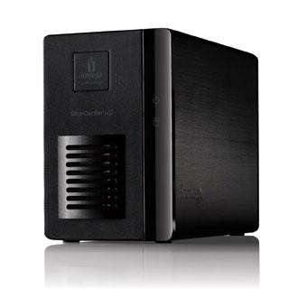 Serveur NAS Iomega StorCenter ix2 Network Storage 2 To Serveur NAS 2 baies avec 2 disques dur avec modes RAID 1 ou JBOD