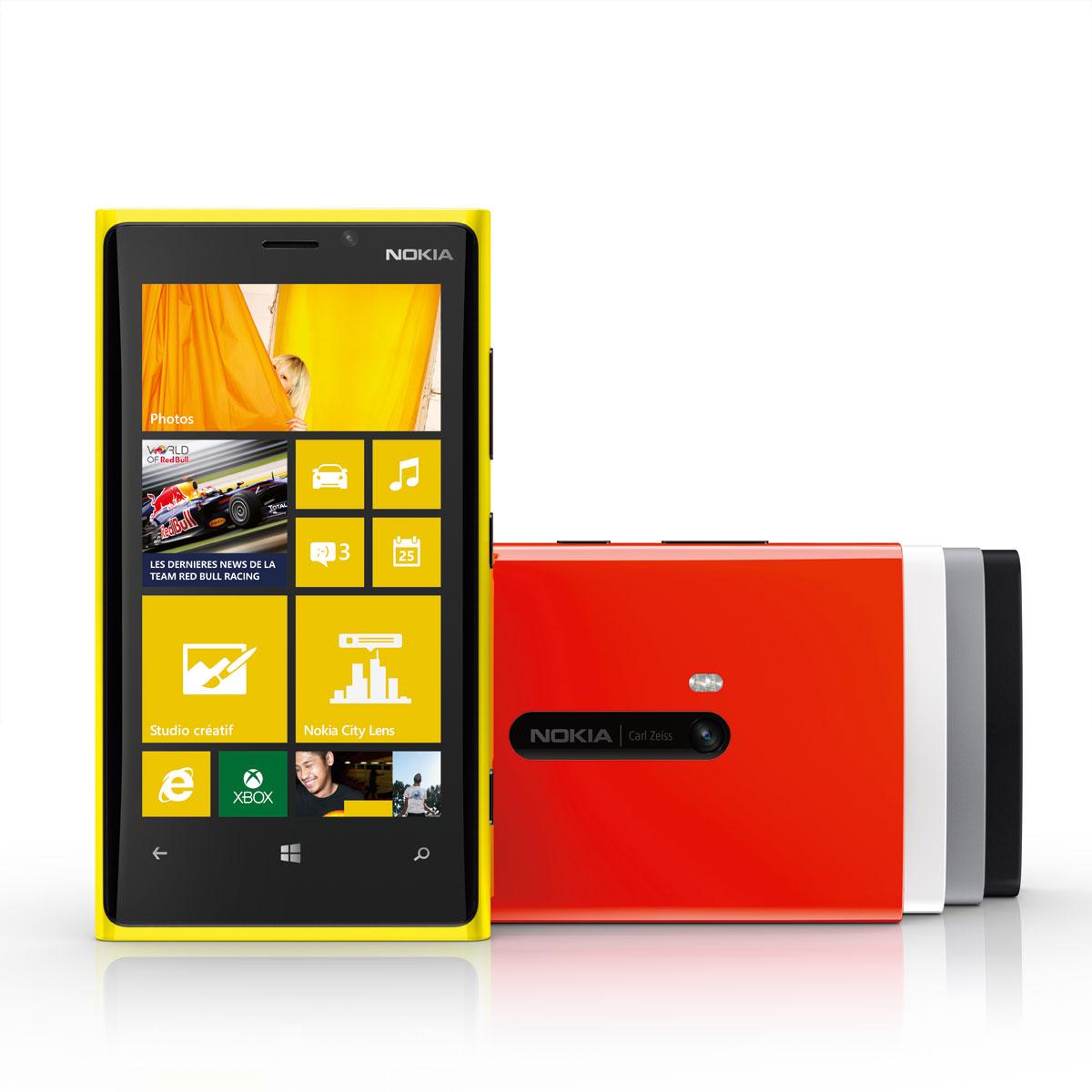 Nokia lumia 920 blanc mobile smartphone nokia sur for Photo ecran lumia 920