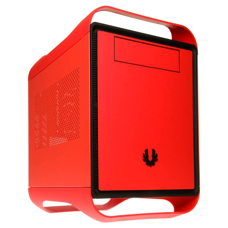 Boîtier PC BitFenix Prodigy (rouge) Boitier Mini ITX