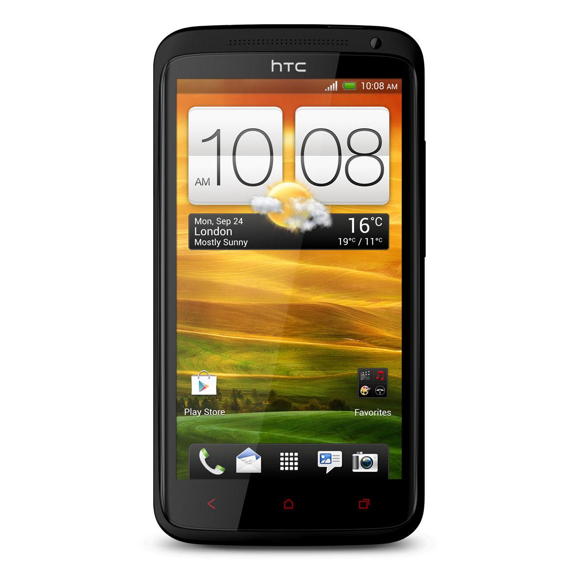 """Mobile & smartphone HTC One X+ Noir 64 Go Smartphone 3G+ avec écran tactile HD 4.7"""" sous Android 4.1"""