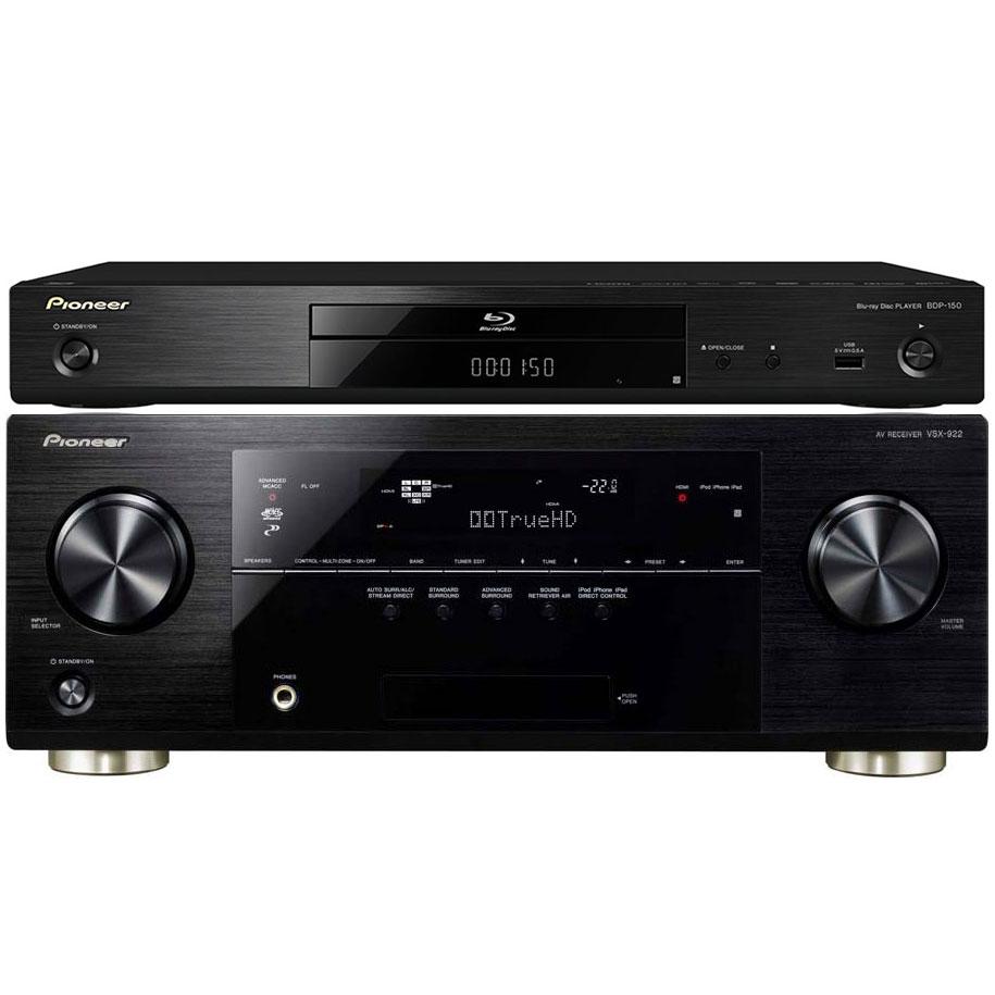 Pioneer vsx 922 pioneer bdp 150 k ensemble home cin ma for Yamaha ns p20 vs ns p40