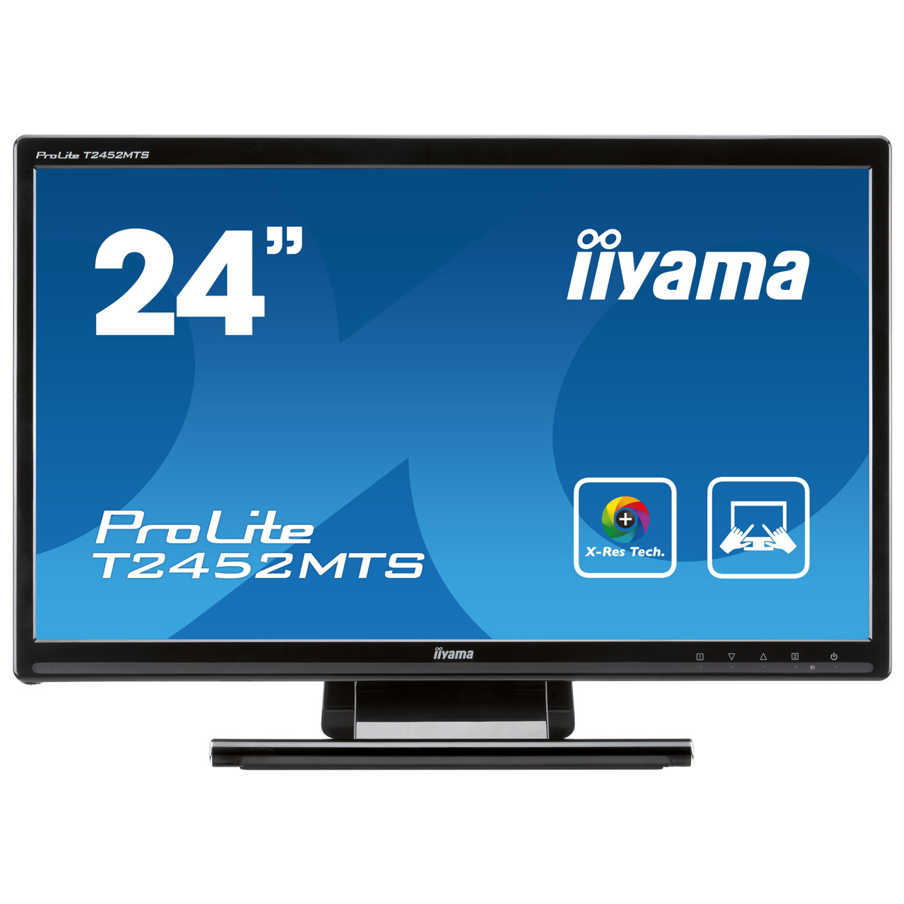 iiyama 23 6 led tactile prolite t2452mts ecran pc iiyama sur. Black Bedroom Furniture Sets. Home Design Ideas