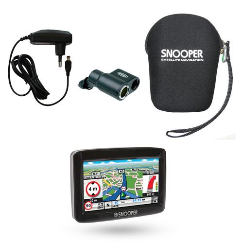 snooper cc1000 camping car europe pack premium gps snooper sur. Black Bedroom Furniture Sets. Home Design Ideas